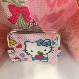 HELLO KITTY MULTI-COLOR GIRLS COIN PURSE